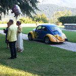 VW Maggiolino - Stratolimite garage - noleggio auto d'epoca per matrimoni ed eventi firenze. Maggiolino, Furgone VW, Corvette e Fiat 500