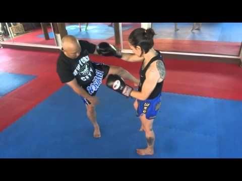 Private Muay Thai Lesson with Burklerk Pinsinchai in Lampang Thailand - ...