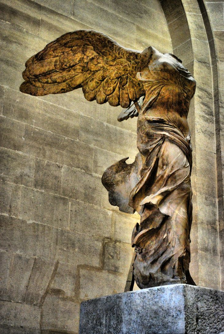Winged Victory Of Samothrace Quote Pinterest