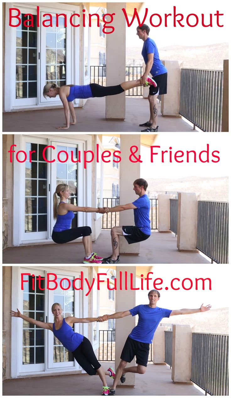 Balancing Worout for Couples & Friends