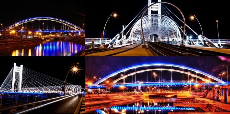 Our beautiful Grozavesti Bridge taken from different angles