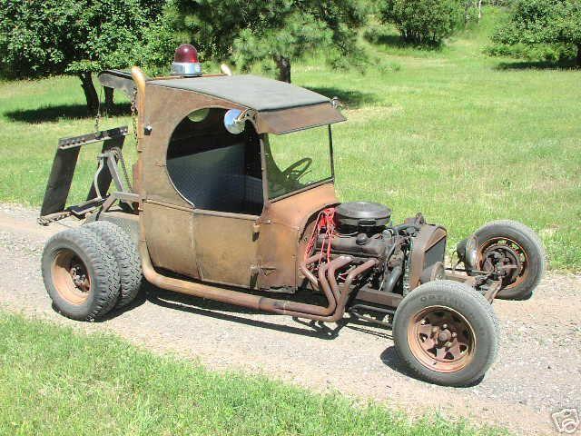 Rat Rod Truck | rat rod tow truck