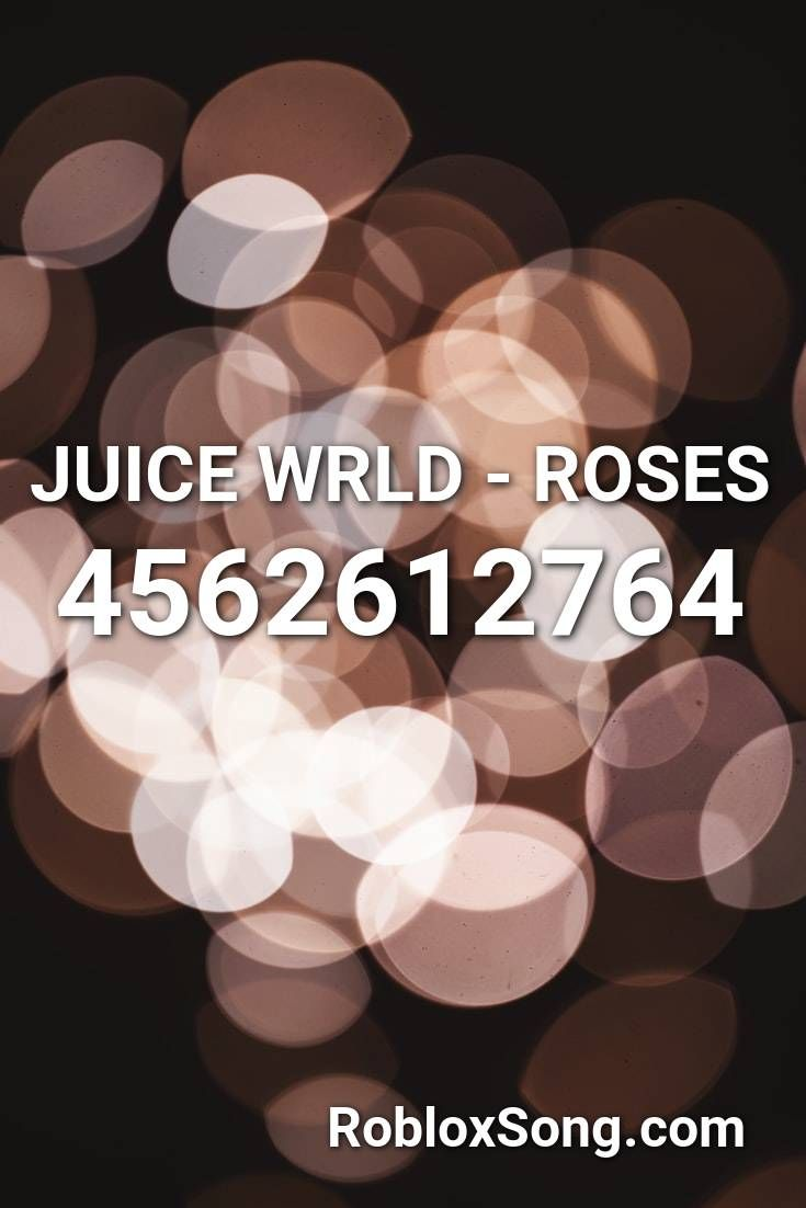 Juice Wrld Roses Roblox Id Roblox Music Codes In 2020 Roblox Coding Words Wallpaper