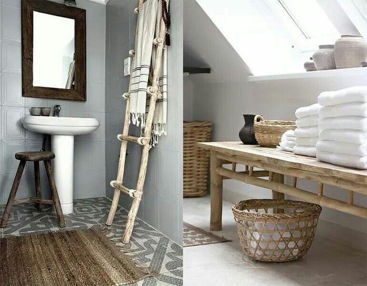 Idee voor de badkamer