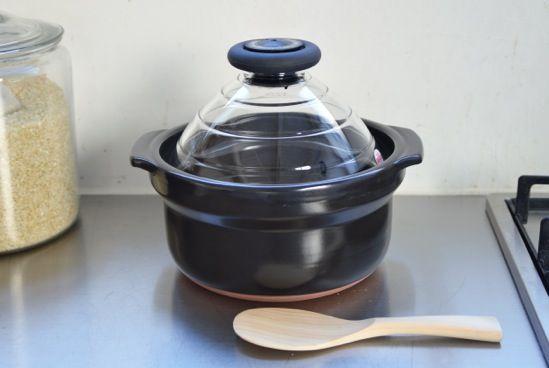 HARIO/ハリオ/炊飯用土鍋(3合用) - 北欧雑貨と北欧食器の通販サイト| 北欧、暮らしの道具店