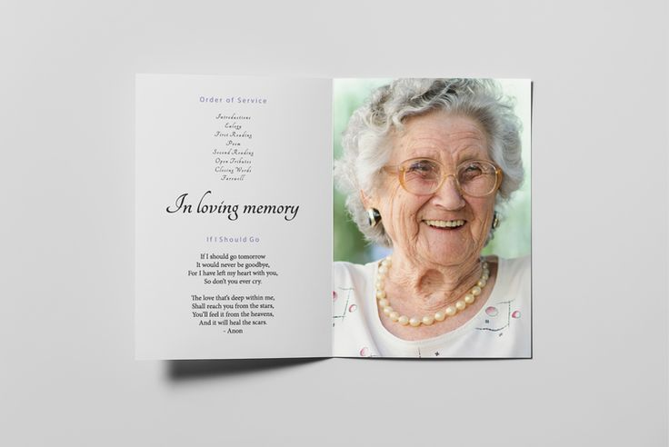 Eden Memorial Card template by wwwforeveryoursnz  Customized - memorial card template