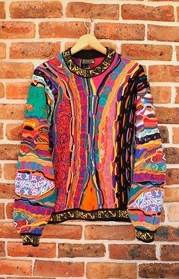 Cosby Sweater - legit Coogi 80s Jello Ruuuuudy