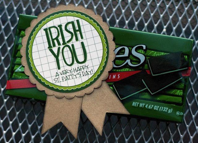 Irish You a Happy St. Patty's Day - fun little gift idea