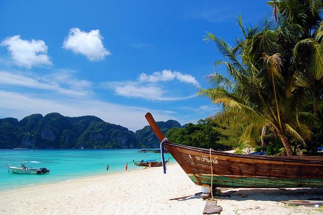 Robbie Tubee - Koh phi phi long beach Thailand - photo contest Thomas Cook Belgium