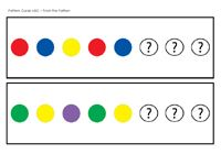 Set of colour pattern cards for printing - what's missing?