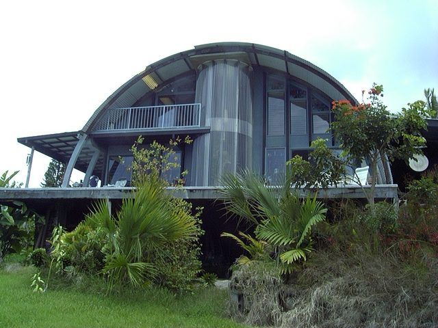 Quonset hut homes housing sustainable living pinterest for Quonset hut home designs