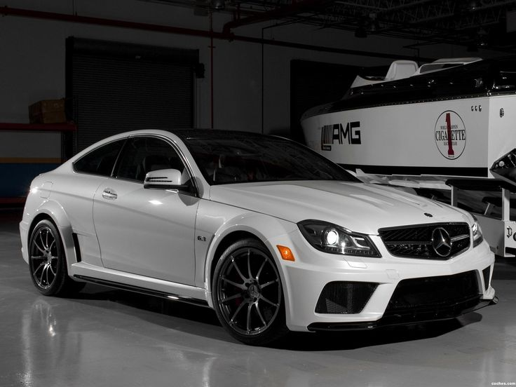 Mercedes clase c amg c63 black series coupe usa 2012