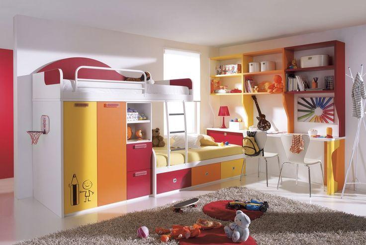Kids design, Kids Bedroom Furniture For Boys With White Wall Paint Color Minimalist Kids Room Ideas Boys Boys Room Ideas Photos: Modern trand decor kids room ideas boys