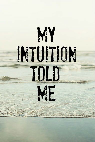 .intuition quote