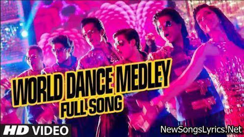 World Dance Medley Song Lyrics Happy New Year Movie World Dance Happy New Year Song Happy new year hindi movie song hd video. pinterest