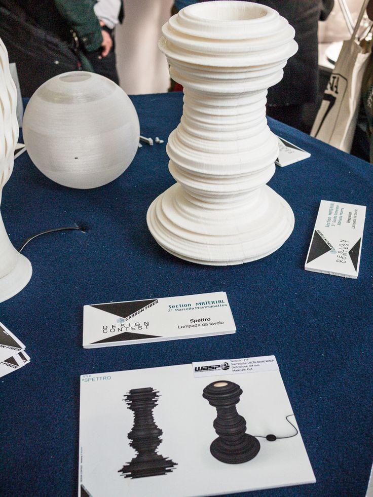 Spettro Table Lamp 2014 - Olympus-FRP - AD 3D Printing - Wasp Project - Superstudio Group - ADI - iGuzzini - Milano Altri Talenti - Marcello Mastromatteo  #table #lamp #table #prototype #3D #printing #carbon #fiber #carbon #marcello #mastromatteo #industrial #designer #product #luxury #milan #milano #concept #spettro #spectrum #temporary #museum #for #new #design #museum #superstudio #group #ad3dprinting #olympus frp