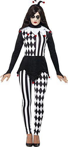 Smiffy's Women's Halloween Female Jester Costume More