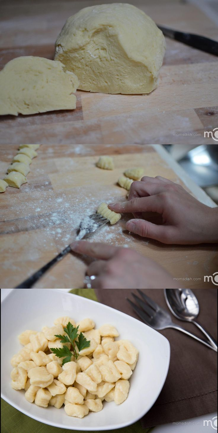 An easy way to preparing gnocchi that your family will love!