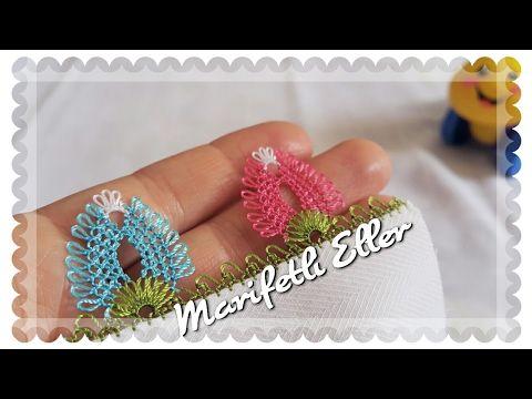 İğne Oyası Pır Pır Çilek Modeli Yapılışı - YouTube