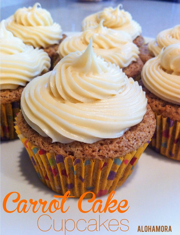 Convert Carrot Cake Recipe To Cupcakes