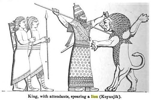 Ancient Lion of Babylon - Biblical Archaeology Ancient Iraq (Bible History Online)