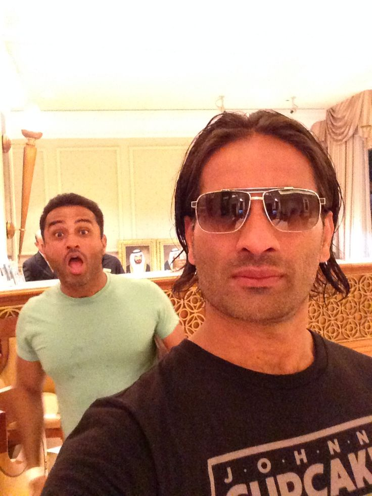 Me and my bro at the Habtoor Grand - Dubai, Sept 14!