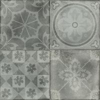 Carrelage style ciment PIAMONTE HUMO DECO 44.7x44.7 cm - 1.4m² Baldocer