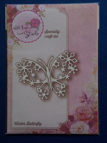 NEW Wild Rose Studio 'Winter Butterfly' Specialty Die SD029 | CRaft-House