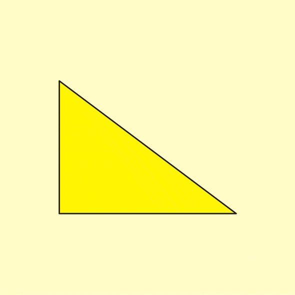 Pythagoras' theorem (a2+b2=c2)