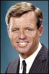 Bobby Kennedy, a man of courage and high ideals.