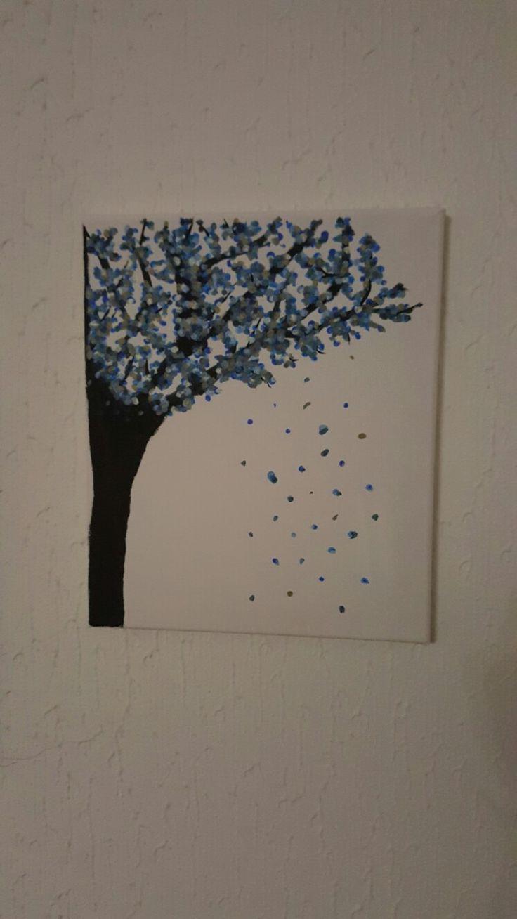 Quadro com cerejeira