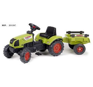 LDD Falquet - Tracteur Claas Arion 410 avec remorque