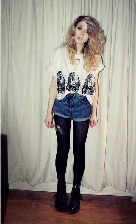 fashion, grunge, hair