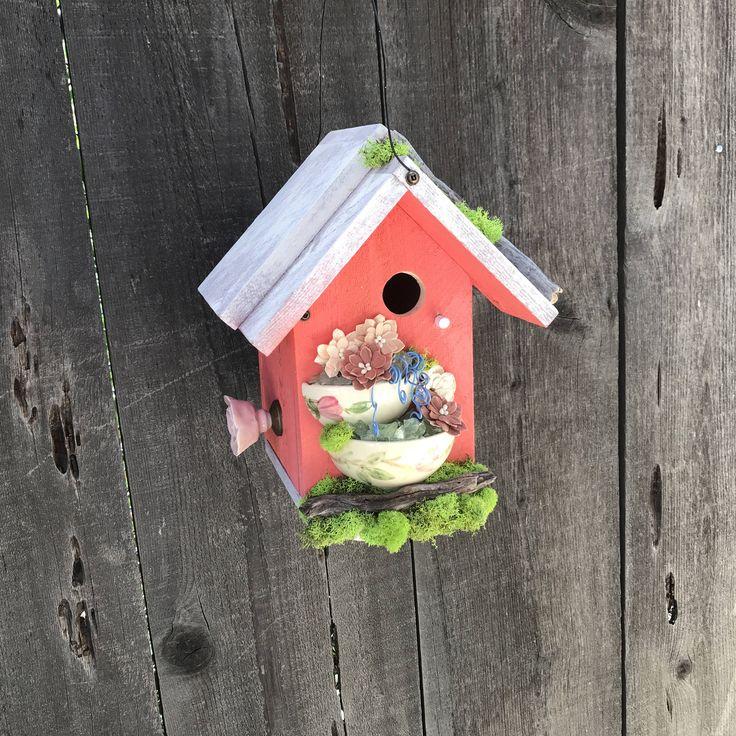 447 best Handmade Birdhouses And Feeders images on Pinterest