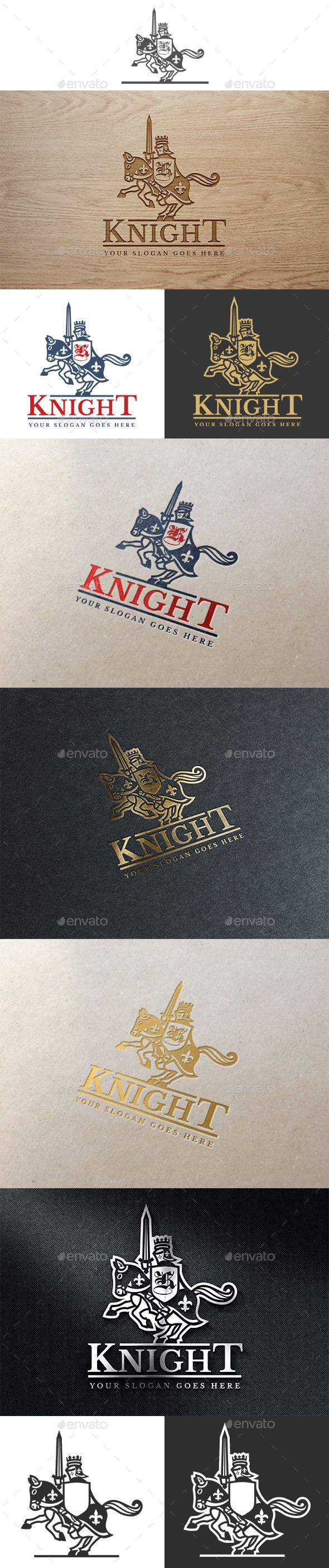 Knight Logo Template Vector EPS, AI, CDR. Download here: http://graphicriver.net/item/knight-logo/12048682?ref=ksioks