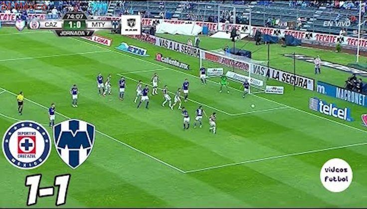 Cruz Azul vs Monterrey 1-1 Goles Resumen HD Jornada 7 Liga MX 2017