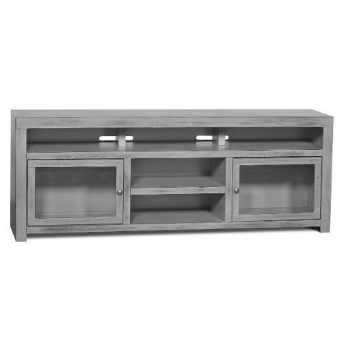 72 Inch Gray TV Stand - Brooklyn