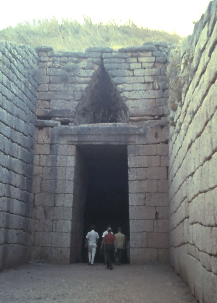 Tomb at Mycenae.