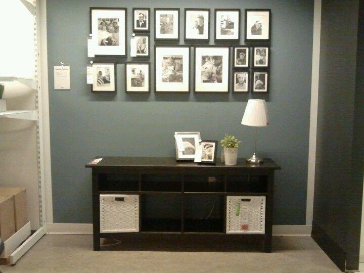 ikea picture wall wsofa table