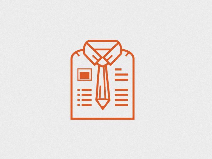 Icon for cv icon cv design dribbble