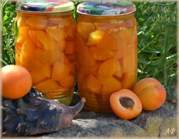 Meruňkové kompoty