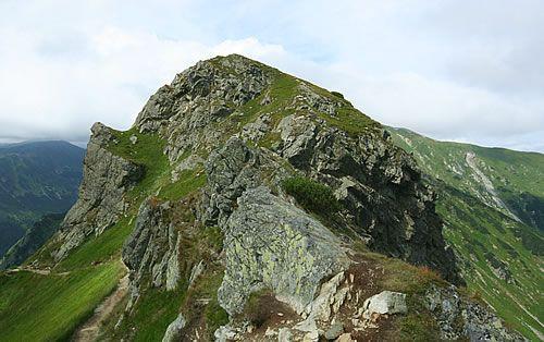 Widok z grzbietów górskich Tatr. #noclegi #zakopane #kościelisko