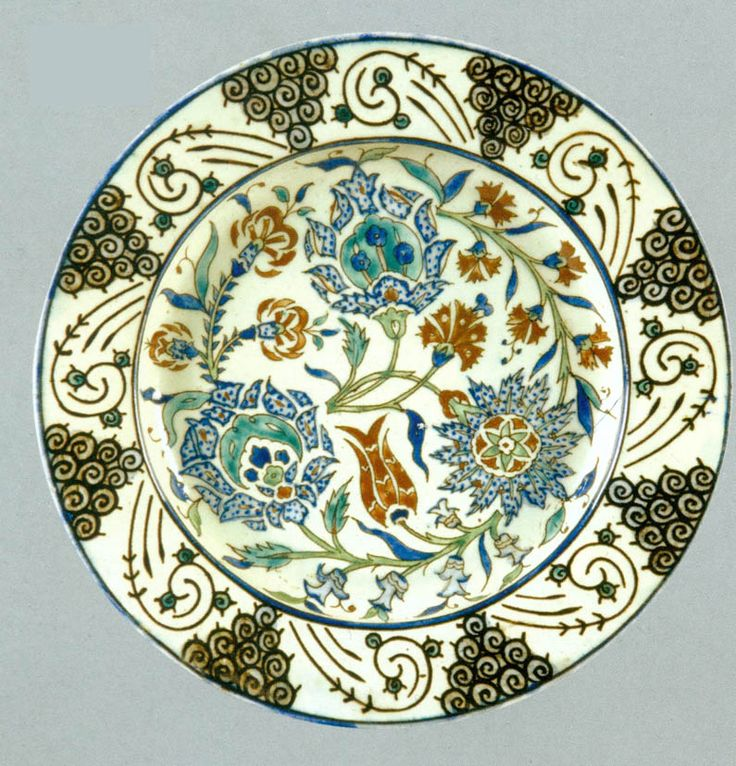 366 Best Antique Kutahya Ceramics Images On Pinterest