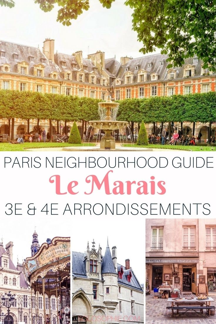 Parisian neighbourhood guide: Le Marais, 3e & 4e arrondissements, Paris, France. Best cafes and bars in the area, things to see and do and where the Parisians really hang out!