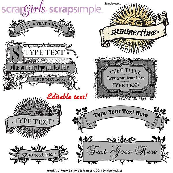 233 best My ScrapSimple Collections images on Pinterest | Digital ...