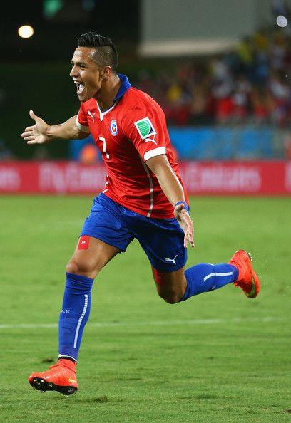 Alexis Sanchez Chile NT