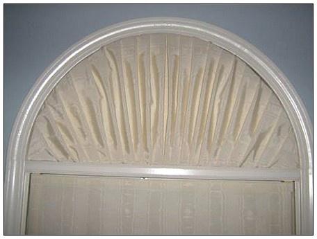 Half Round Window Treatment Windows Pinterest Window