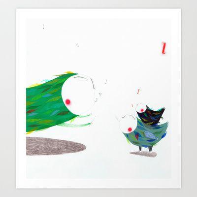 Music Art Print by Marta Torrão - $19.00
