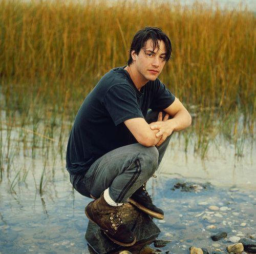 Keanu Reeves by Deborah Feingold1989