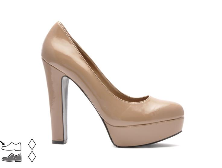 Pantofi cu platforma si toc inalt - Dama - 49 Lei.   Miniprix.ro
